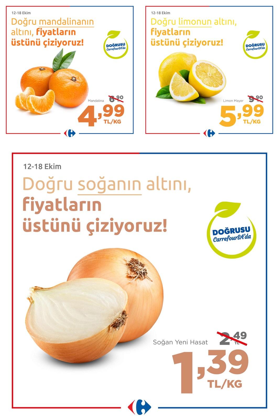 12.10.2021 CarrefourSA broşürü 1. sayfa