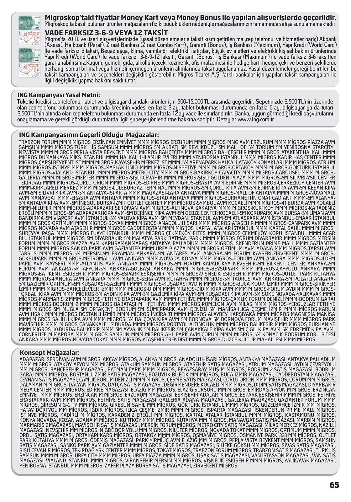 03.06.2021 Migros broşürü 65. sayfa
