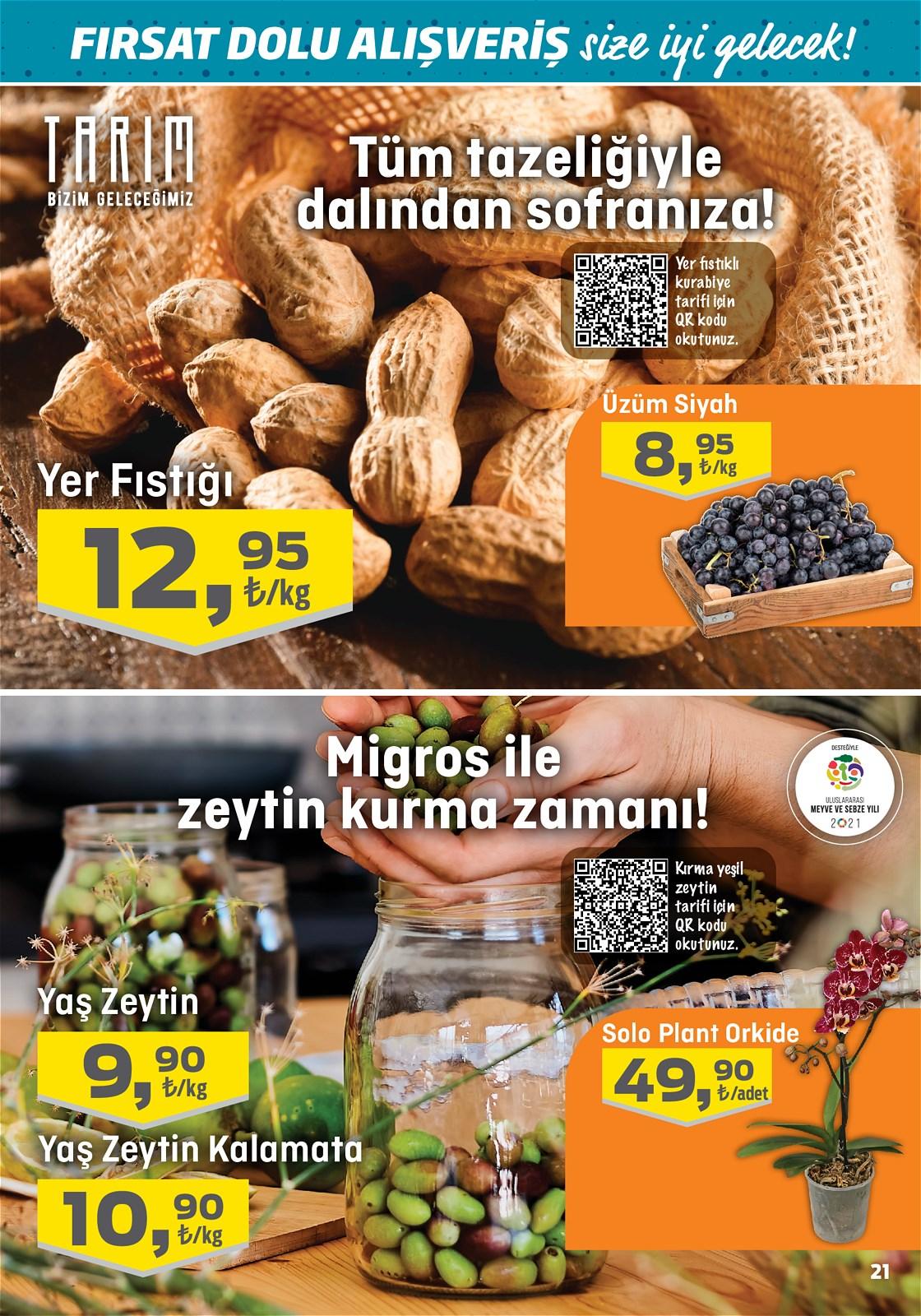 07.10.2021 Migros broşürü 21. sayfa