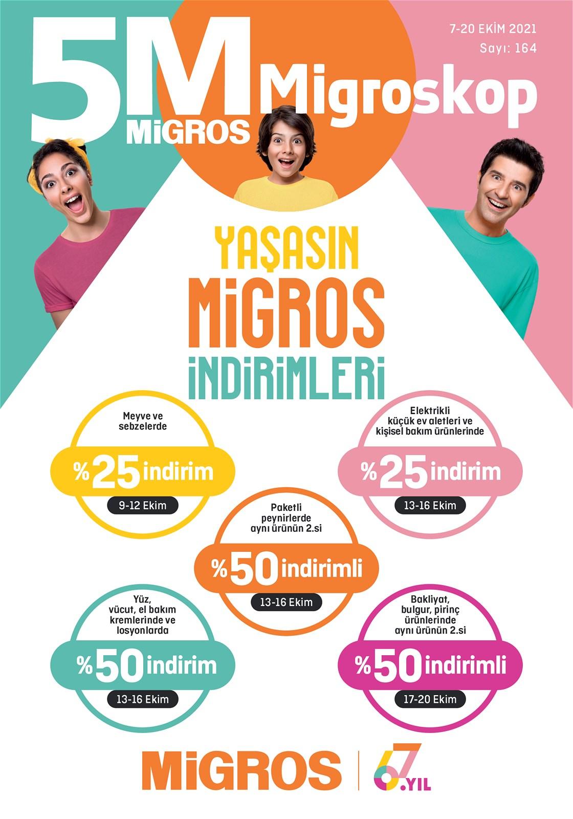07.10.2021 Migros broşürü 1. sayfa