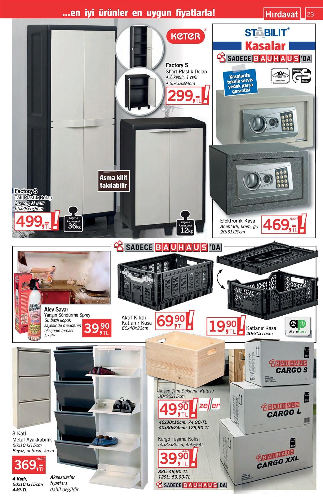 25.09.2021 Bauhaus broşürü 23. sayfa