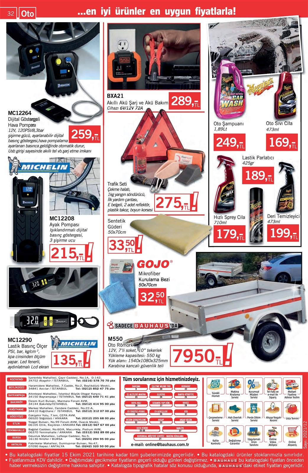 25.09.2021 Bauhaus broşürü 32. sayfa