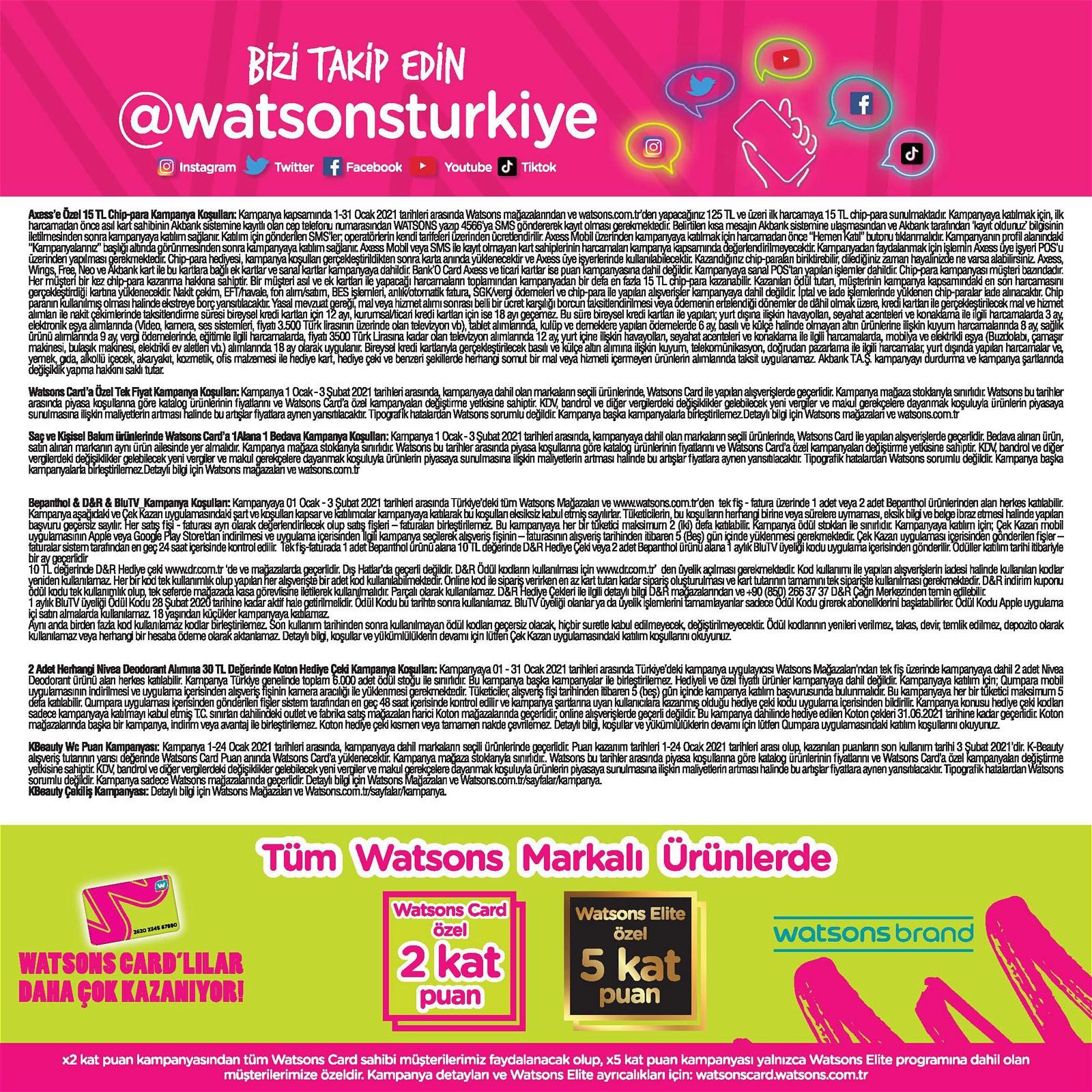 01.01.2021 Watsons broşürü 59. sayfa