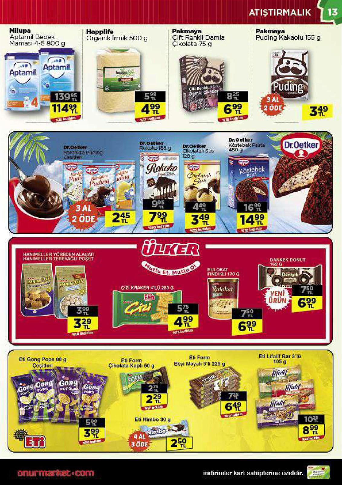 03.06.2021 Onur Market broşürü 13. sayfa