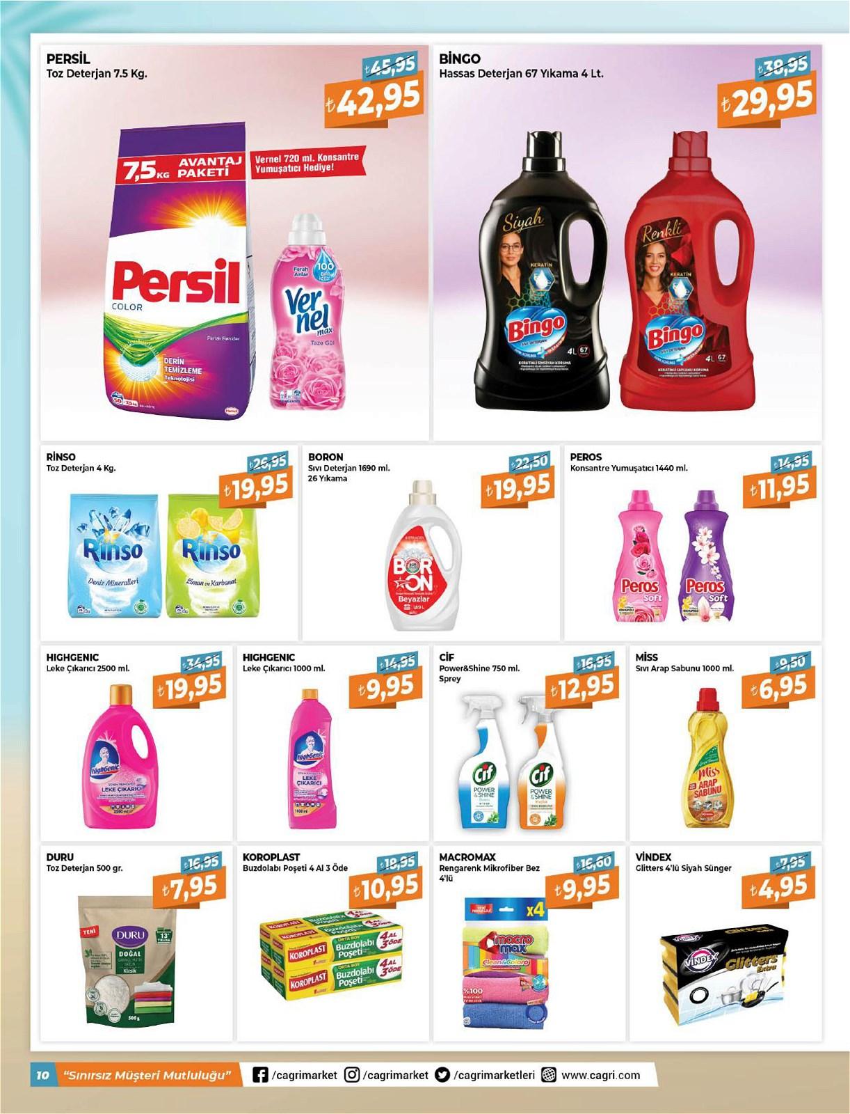 05.06.2021 Çağrı Hipermarket broşürü 10. sayfa