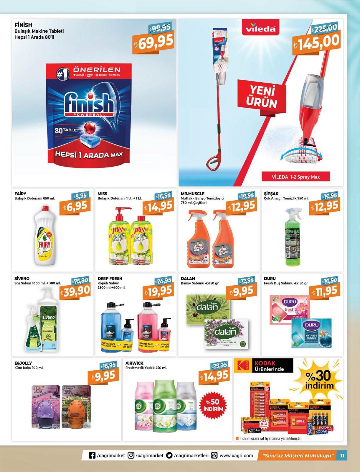 05.06.2021 Çağrı Hipermarket broşürü 11. sayfa