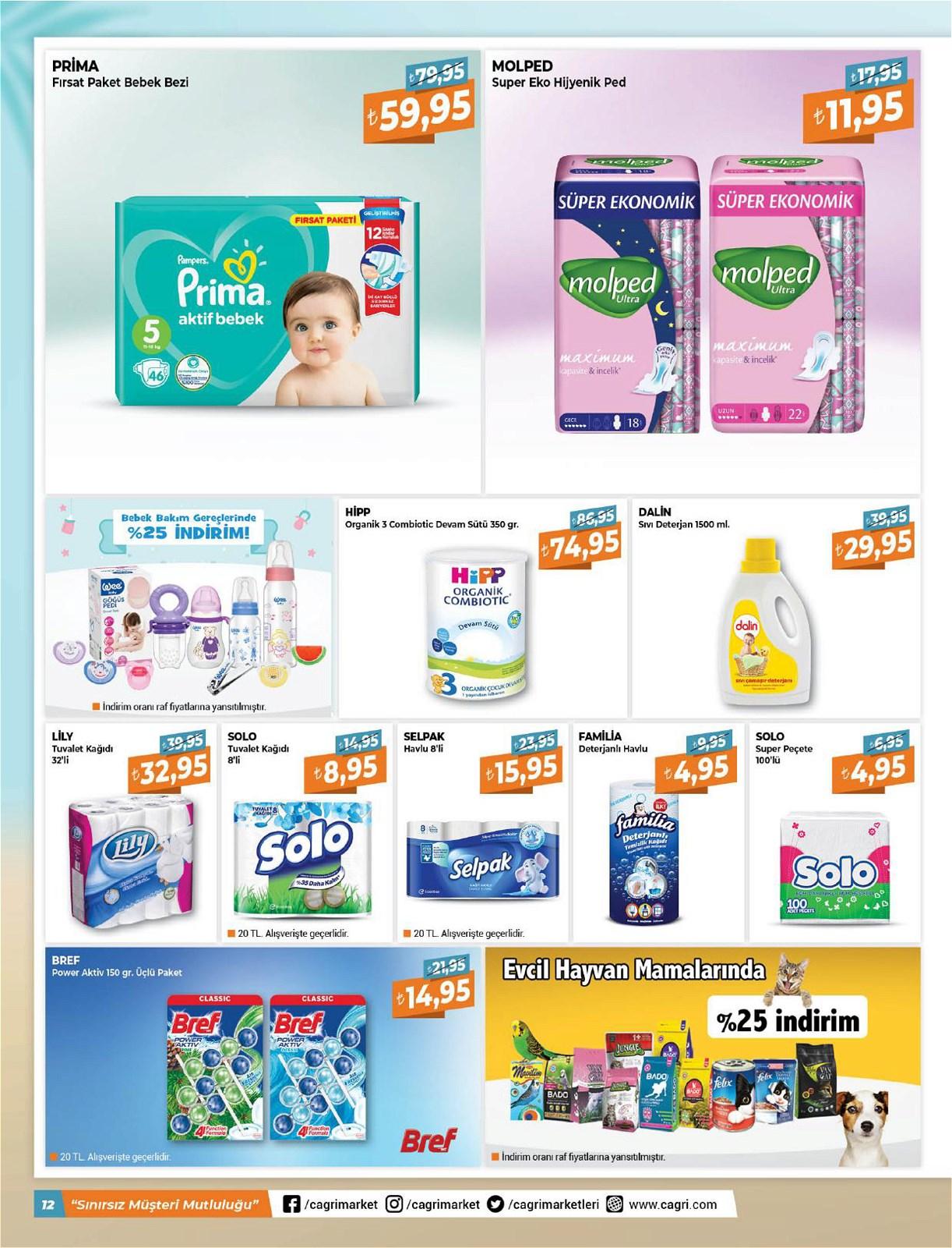 05.06.2021 Çağrı Hipermarket broşürü 12. sayfa
