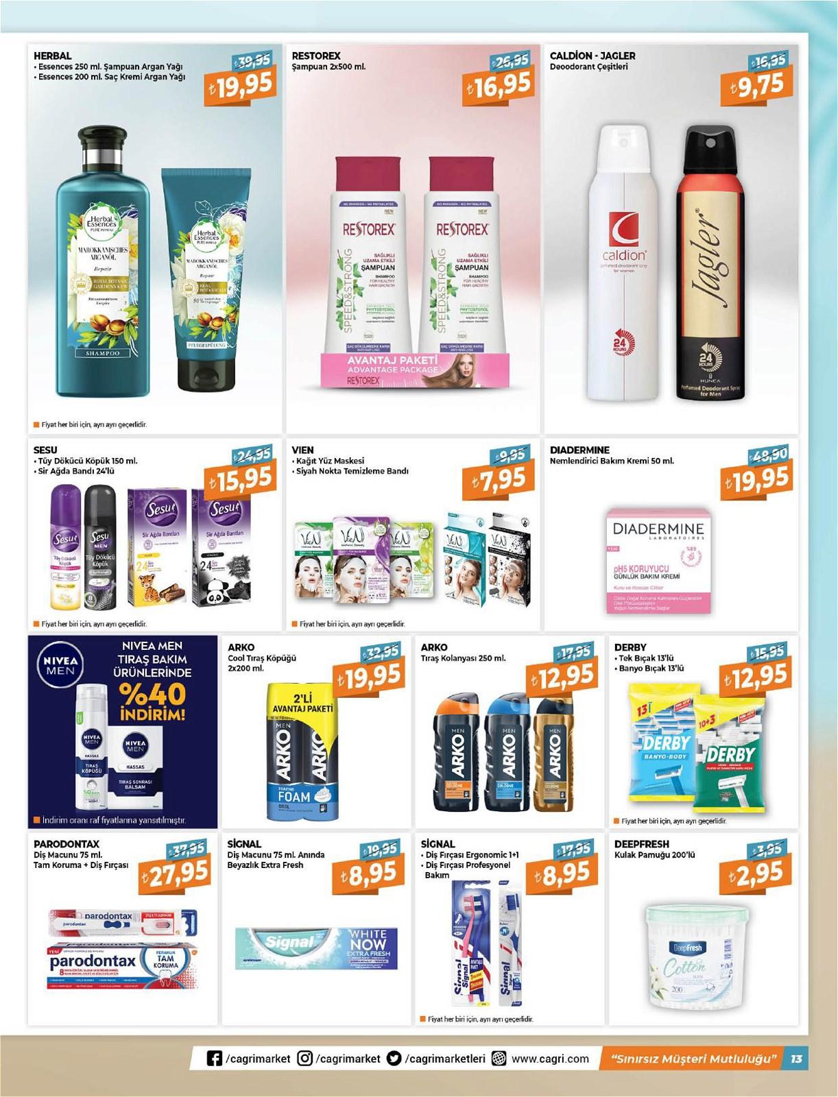 05.06.2021 Çağrı Hipermarket broşürü 13. sayfa