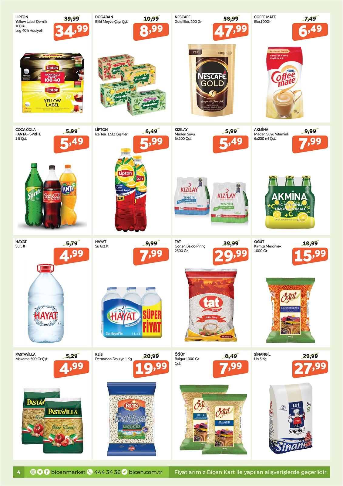 07.10.2021 Biçen Market broşürü 4. sayfa
