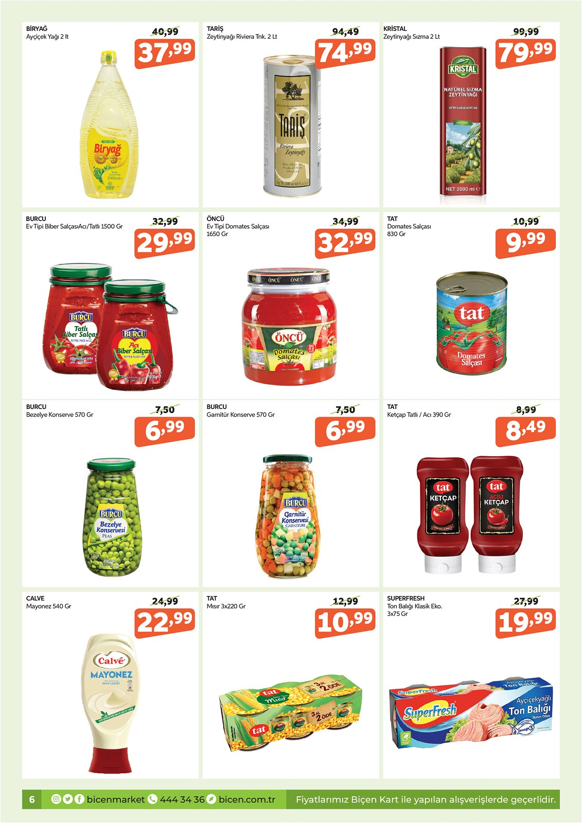 07.10.2021 Biçen Market broşürü 6. sayfa