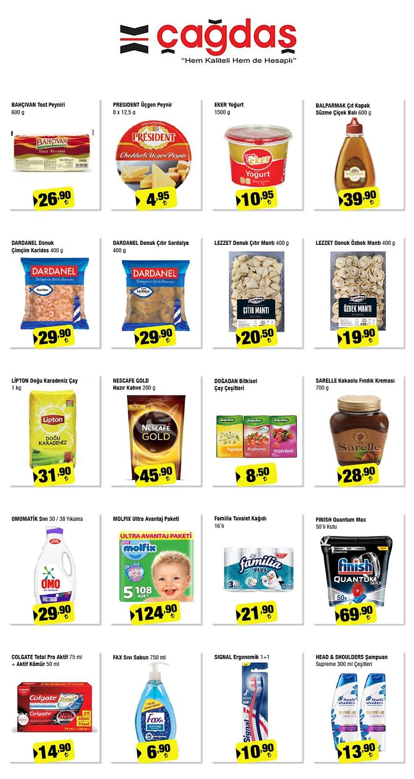 08.10.2021 Çağdaş Marketler broşürü 1. sayfa