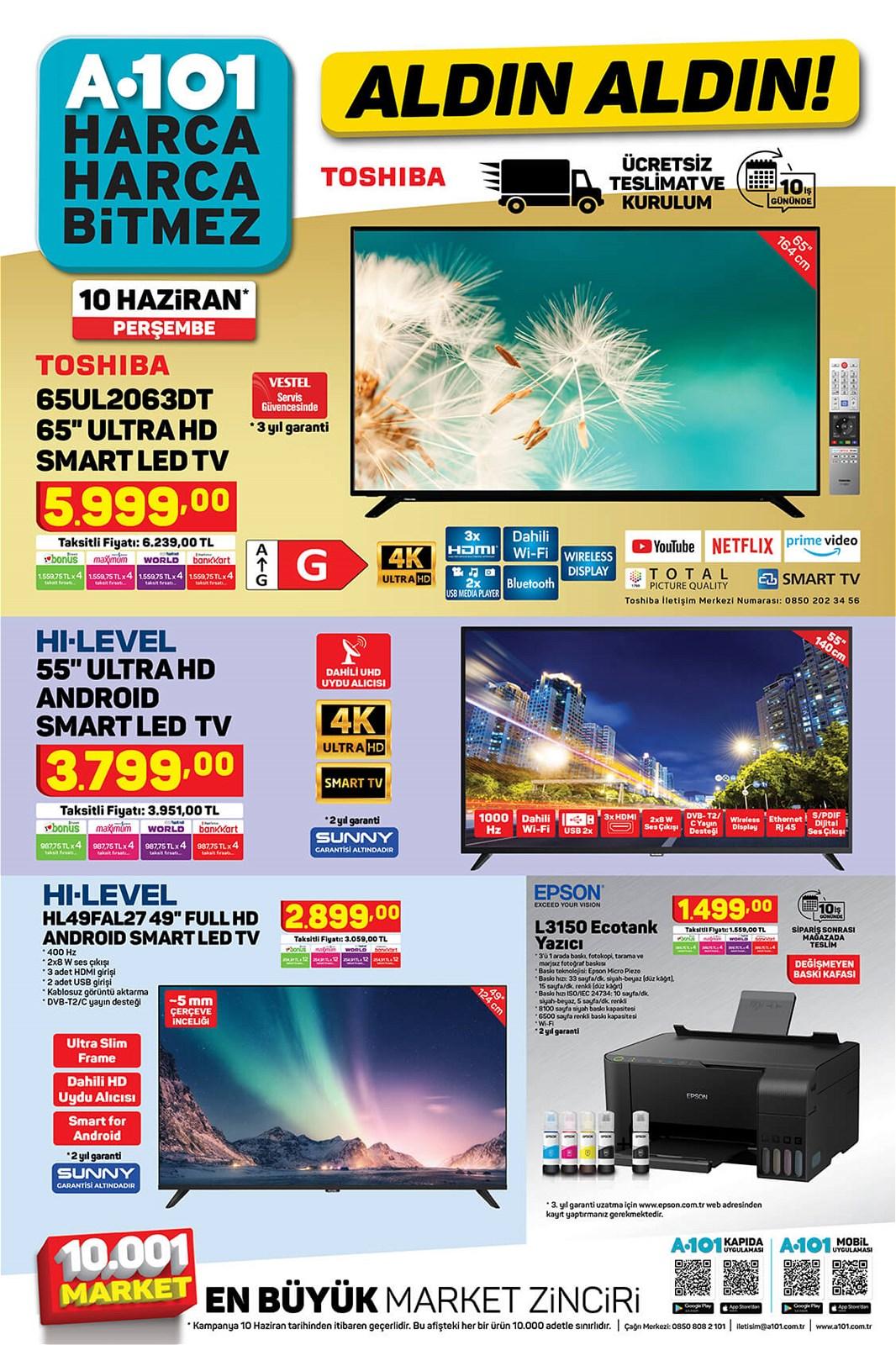 10.06.2021 A101 broşürü 1. sayfa