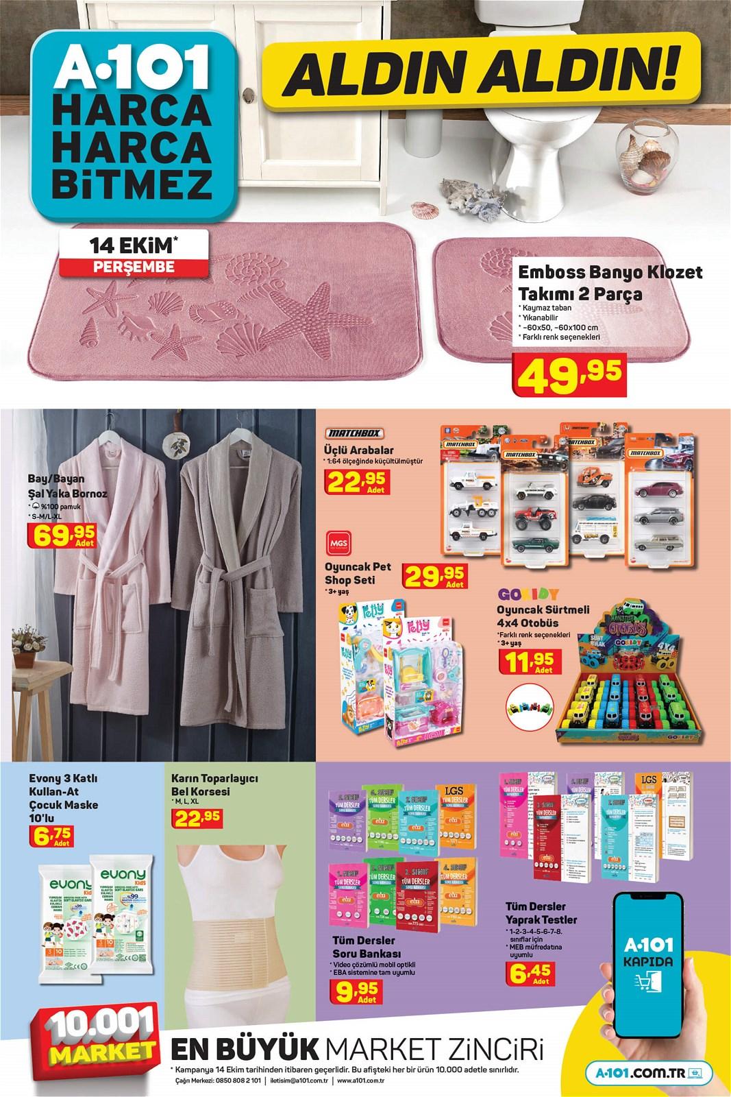 14.10.2021 A101 broşürü 8. sayfa