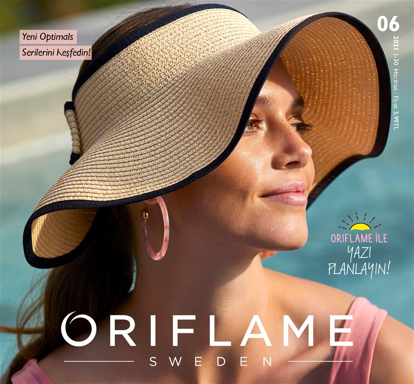 01.06.2021 Oriflame broşürü 1. sayfa