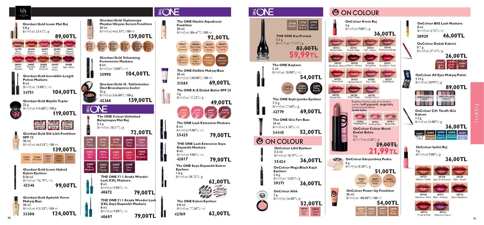 01.06.2021 Oriflame broşürü 46. sayfa