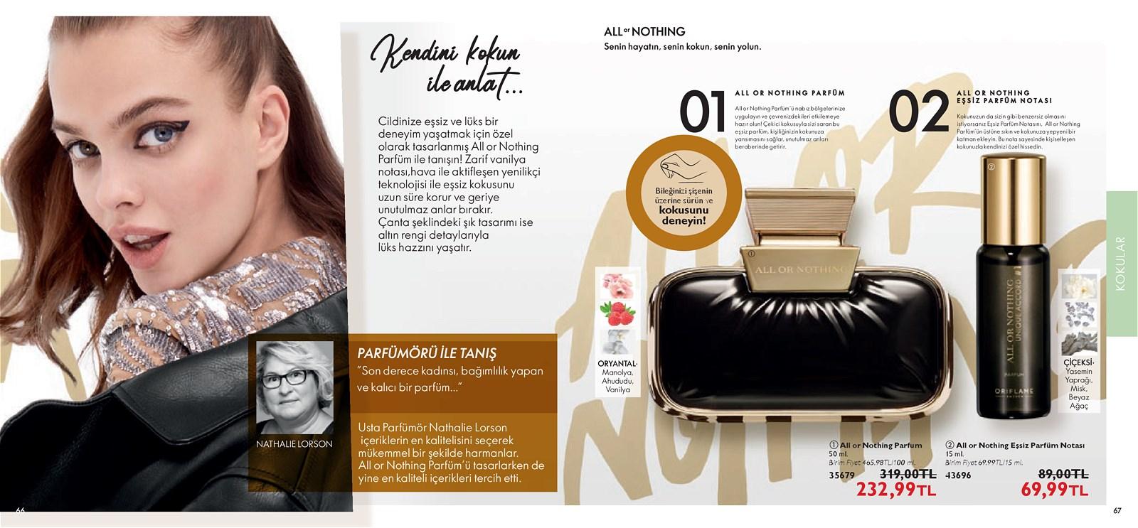 01.11.2021 Oriflame broşürü 34. sayfa