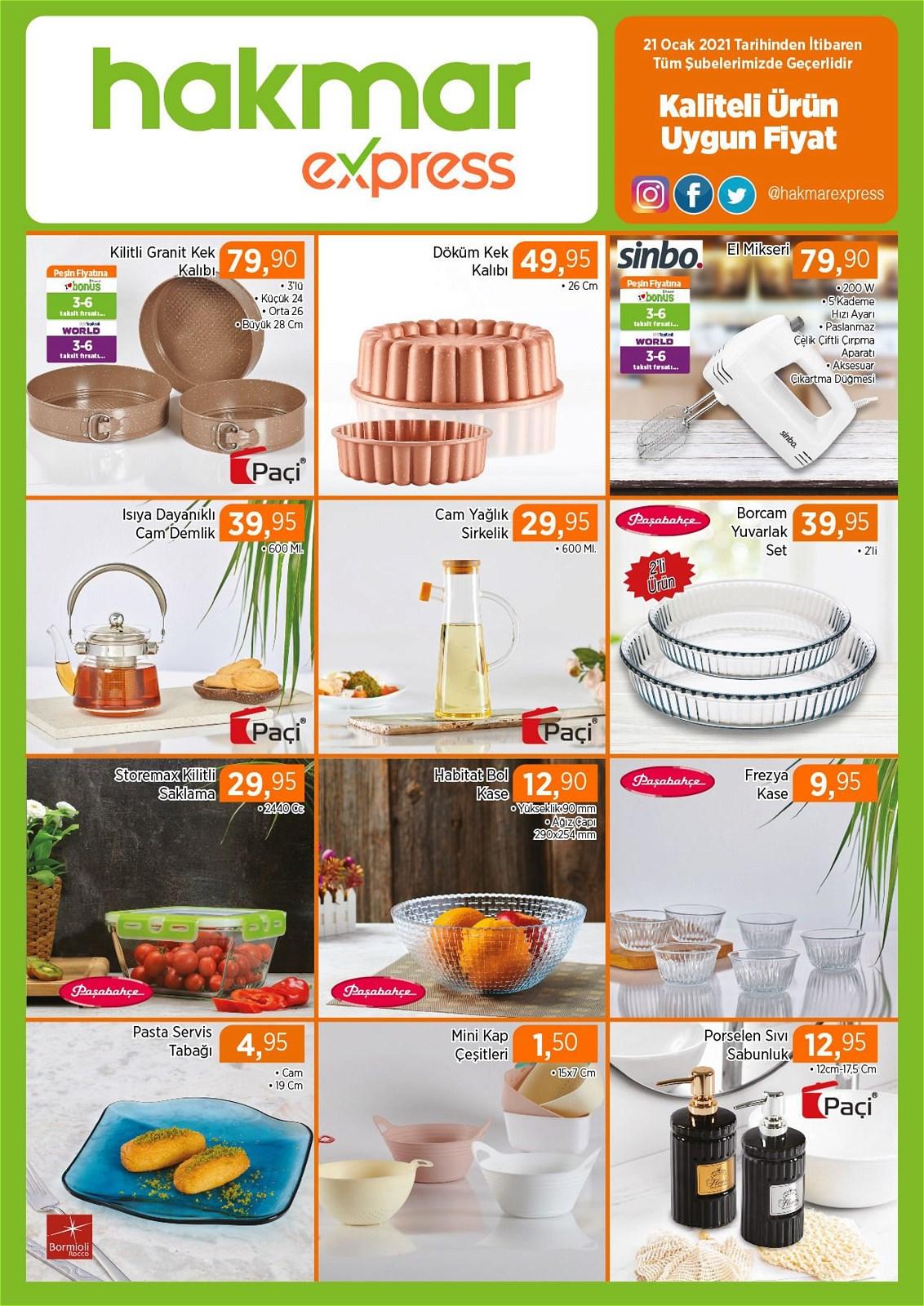 21.01.2021 Hakmar Express broşürü 1. sayfa