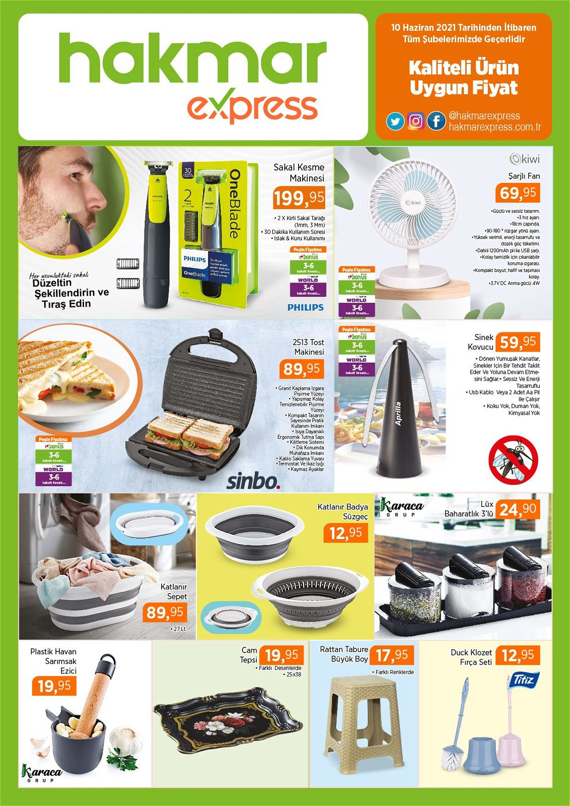 10.06.2021 Hakmar Express broşürü 1. sayfa
