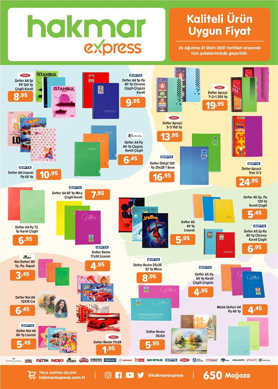 26.08.2021 Hakmar Express broşürü 5. sayfa