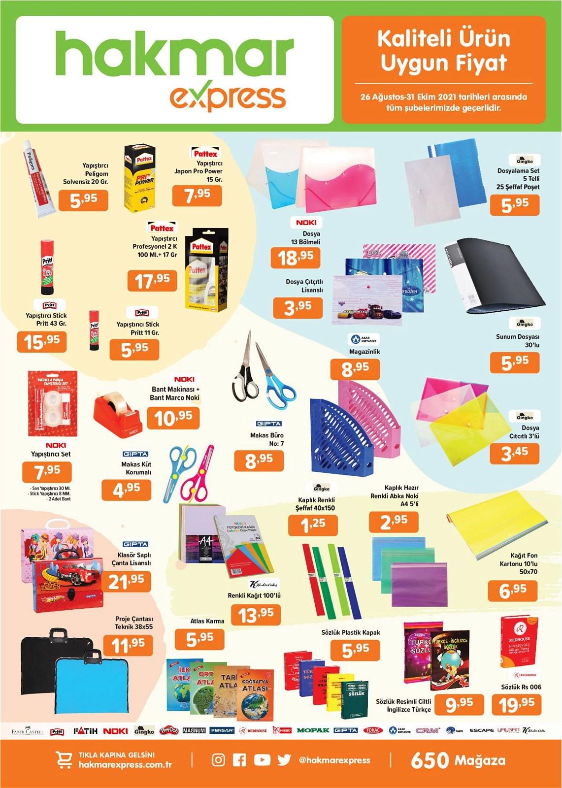 26.08.2021 Hakmar Express broşürü 7. sayfa