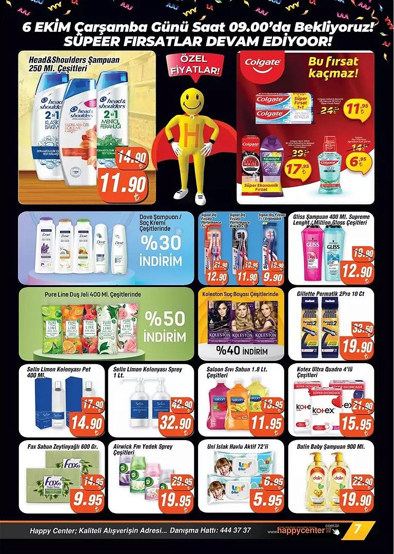 06.10.2021 Happy Avantaj broşürü 7. sayfa