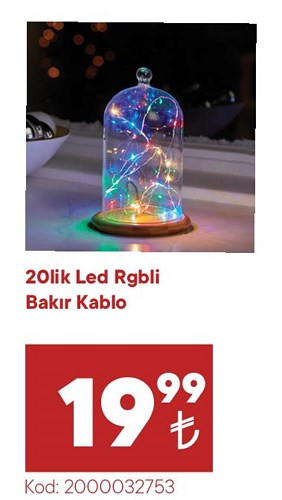 20Lik Led Rgbli Bakır Kablo image