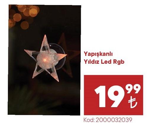 Yapışkanlı Yıldız Led Rgb image