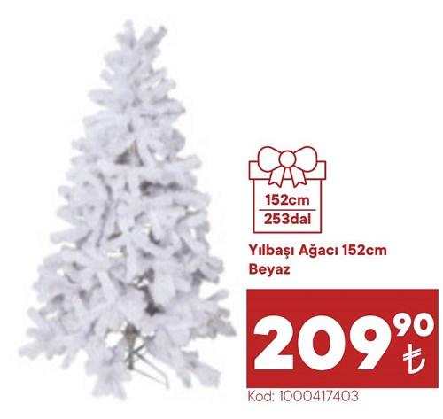 Yılbaşı Ağacı 152 cm Beyaz image