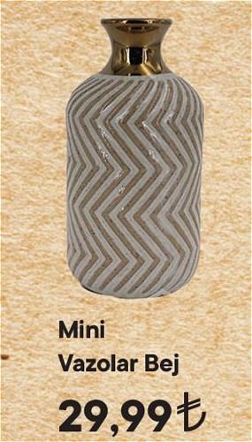 Mini Vazolar Bej image