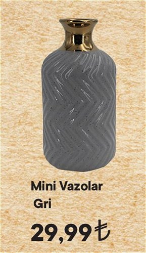 Mini Vazolar Gri image