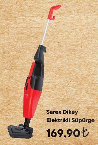 Sarex Dikey Elektrikli Süpürge image
