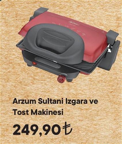 Arzum Sultani Izgara ve Tost Makinesi  image