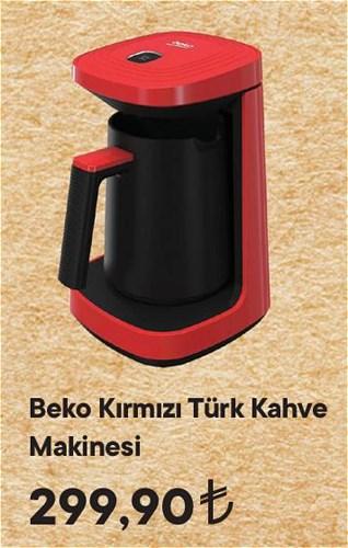 Beko Kırmızı Türk Kahve Makinesi image