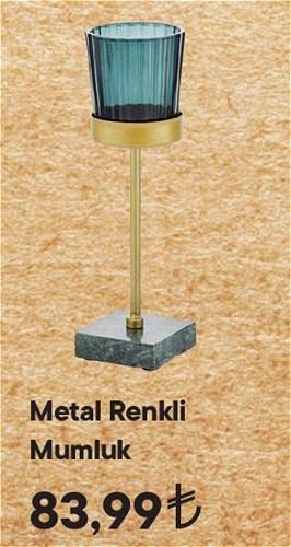 Metal Renkli Mumluk image