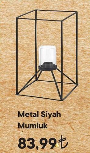 Metal Siyah Mumluk image