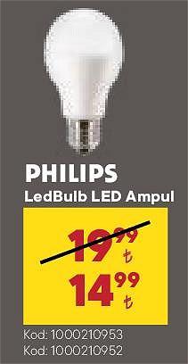Philips LedBulb Led Ampul image