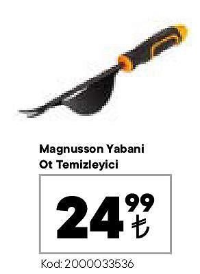 Magnusson Yabani Ot Temizleyici image