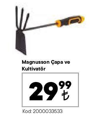 Magnusson Çapa ve Kultivatör image