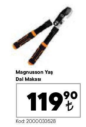 Magnusson Yaş Dal Makası image