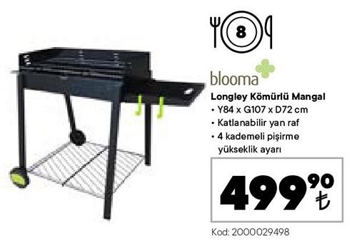 Blooma Longley Kömürlü Mangal image