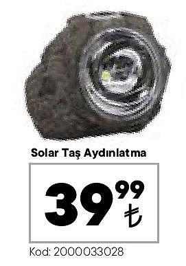 Solar Taş Aydınlatma  image