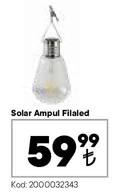 Solar Ampul Filaled  image