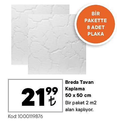 Breda Tavan Kaplama 50x50 cm image
