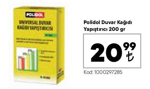 Polidol Duvar Kağıdı Yapıştırıcı 200 gr image