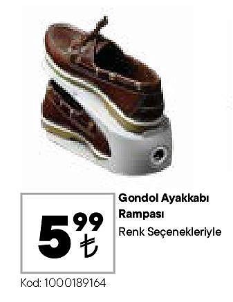 Gondol Ayakkabı Rampası image