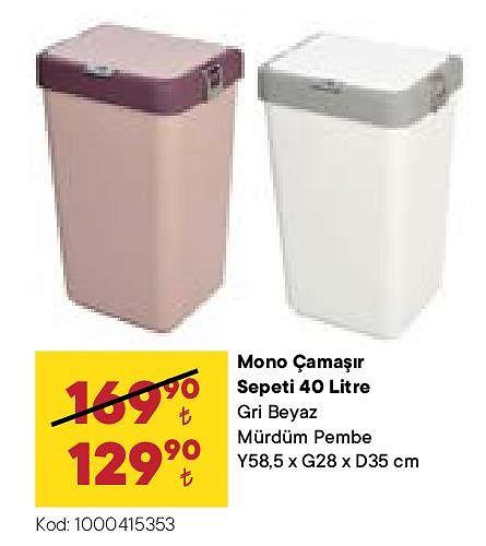 Micro Çamaşır Sepeti 40 l image
