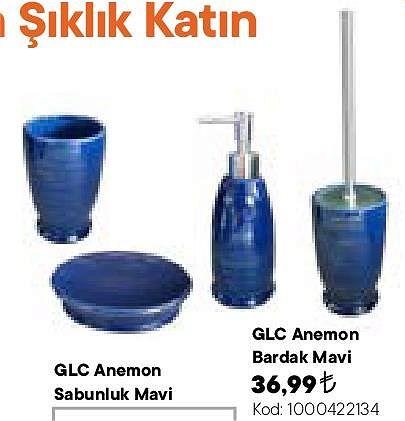 Glc Anemon Bardak Mavi image