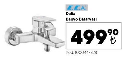 ECA Dalia Banyo Bataryası image