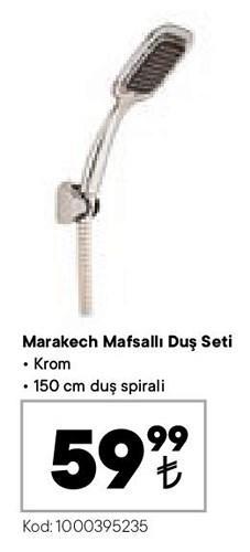 Marakech Mafsallı Duş Seti image