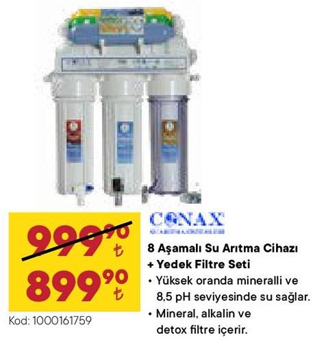 Conax 8 Aşamalı Su Arıtma Cihazı+Yedek Filtre Seti image